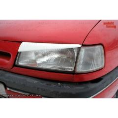 Накладки (реснички) на фары для Opel Vectra A