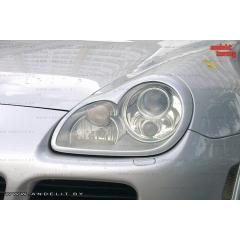Накладки (маски) на фары для Porsche Cayenne 955