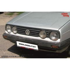Накладка (ресничка) нижняя для Volkswagen Golf 2