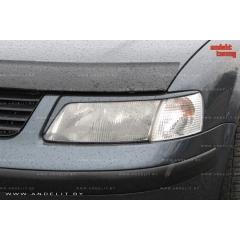 Накладки (реснички) на фары для Volkswagen Passat B5