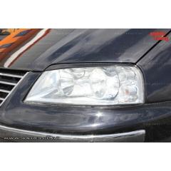 Накладки (реснички) на фары для Volkswagen Sharan (2000-2010)