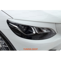 Реснички на фары  для Mercedes GLC C253 coupe