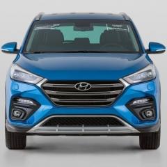 Бампер передний GRAND MASTER для Hyundai Tucson (2015-2018)